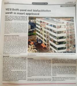 YES!Delft met biofaciliteiten